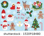set of illustrations related to ... | Shutterstock .eps vector #1520918480