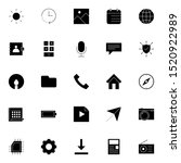 set 25 of ui and ux icon in...