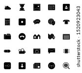 set 19 of ui and ux icon in...