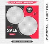 template post for social media...   Shutterstock .eps vector #1520941466