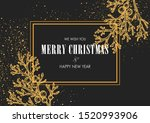 merry christmas and happy new... | Shutterstock .eps vector #1520993906