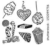 funfair vector set  design... | Shutterstock .eps vector #152099756
