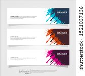 vector abstract web banner...