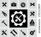tools icons | Shutterstock .eps vector #152112809
