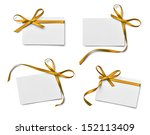 collection of various note card ... | Shutterstock . vector #152113409