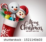 christmas greeting card vector... | Shutterstock .eps vector #1521140603