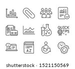 set of education icons  such as ... | Shutterstock .eps vector #1521150569