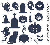 Halloween Set Collection Shape...