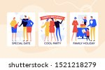 event agency offers vector... | Shutterstock .eps vector #1521218279