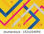 vector abstract background... | Shutterstock .eps vector #1521224093