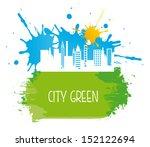 city green over white... | Shutterstock .eps vector #152122694