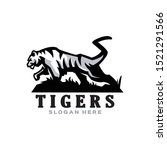 tiger logo template for mascot...   Shutterstock .eps vector #1521291566