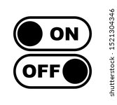 on and off icon design. on and...