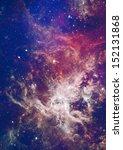 far being shone nebula and star ... | Shutterstock . vector #152131868