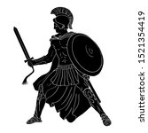 Ancient Greek Warrior With A...