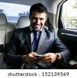 businessman in the car | Shutterstock . vector #152139569