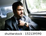 businessman in the car | Shutterstock . vector #152139590