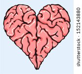 intelligent love | Shutterstock .eps vector #152143880