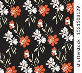 fashionable pattern in small... | Shutterstock .eps vector #1521503129