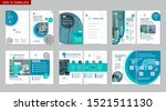 brochure creative design.... | Shutterstock .eps vector #1521511130