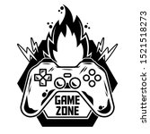game design icon logo of... | Shutterstock .eps vector #1521518273