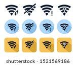 wifi icons vector illustration...   Shutterstock .eps vector #1521569186
