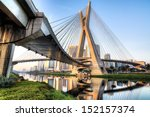 Estaiada Bridge Sao Paulo Brazil - Fine Art prints