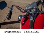 Old Harley Davidson Motorcycle...