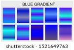 blue gradient set different...
