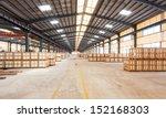 interior of a warehouse | Shutterstock . vector #152168303