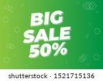 modern super sale banner and...   Shutterstock .eps vector #1521715136