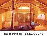 Mouse In Farm Barn House....