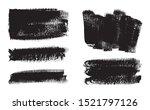 set of black brush stroke... | Shutterstock .eps vector #1521797126