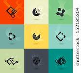 set of vector  icons | Shutterstock .eps vector #152185304