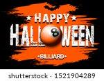 halloween pattern. happy... | Shutterstock .eps vector #1521904289