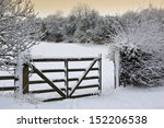 Winter Snow In The Countryside...