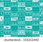 seamles pattern from old retro... | Shutterstock .eps vector #152211443