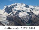 Постер, плакат: Monte Rosa 4634m in