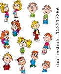 the illustration shows a few... | Shutterstock .eps vector #152217386