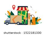 online logistic delivery...