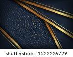 abstract luxury dark background ... | Shutterstock .eps vector #1522226729