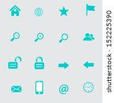 internet and web icons | Shutterstock .eps vector #152225390