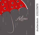 Umbrella And Rain Drops  ...