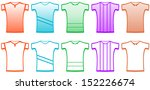 clothes set isolated sports t...   Shutterstock .eps vector #152226674