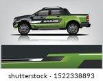 truck decal wrap design... | Shutterstock .eps vector #1522338893