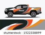 truck decal wrap design... | Shutterstock .eps vector #1522338899