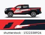 truck decal wrap design... | Shutterstock .eps vector #1522338926