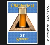 oktoberfest poster with text... | Shutterstock .eps vector #1522412273