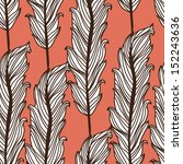 elegant seamless pattern with... | Shutterstock .eps vector #152243636