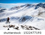 the breckenridge mountain with...